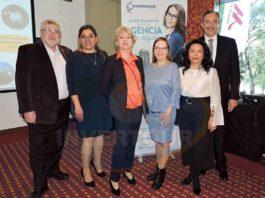 Sergey Kilyakov, Karina González, Natalia Podosenova, Eugenia Lopunova, Rosario Hernández y César Fernández