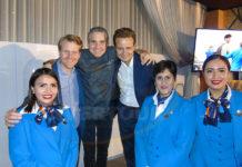 Marius van der Ham, Mikel Alonso y Guilhem Mallet