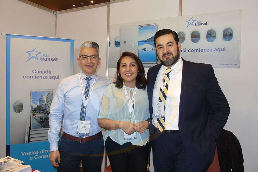 Marco Maldonado, Miriam Ramos y Armando Yúdico