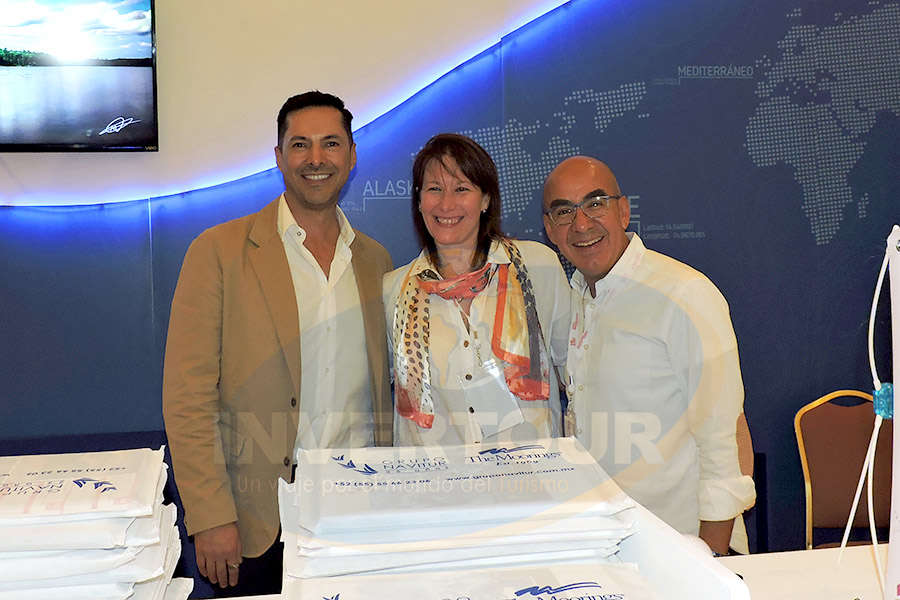 Gustavo Alpizar, Verónica Mittel y Erwin Romero