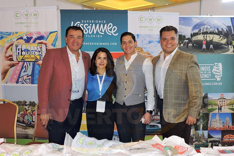 Mauricio González, Susy Orizaga, Miguel Miranda y Mauricio Castillo