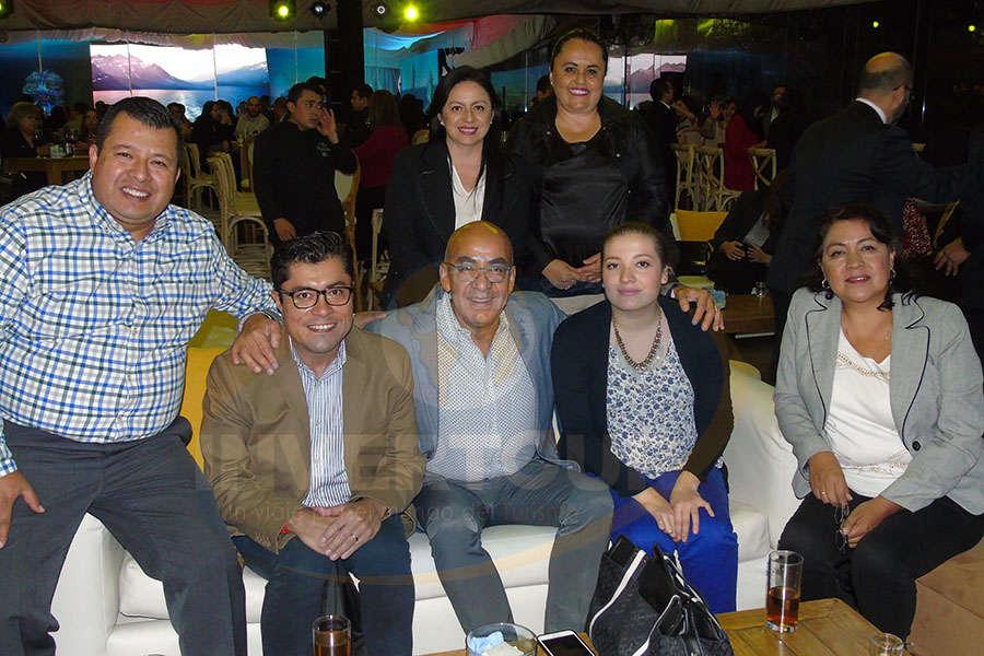 Rodrigo Contreras, Ulises Reyes, Erwin Romero, Claudia Garduño, Perla Contreras, Karina Balderas y Rosario Leal