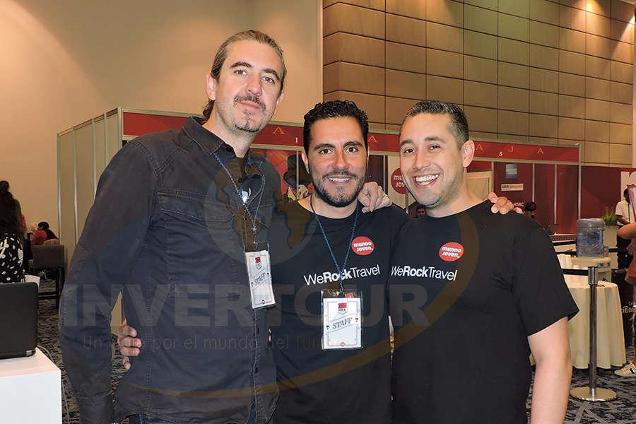 Jordi Llorens, Iván López y Rubén Mora