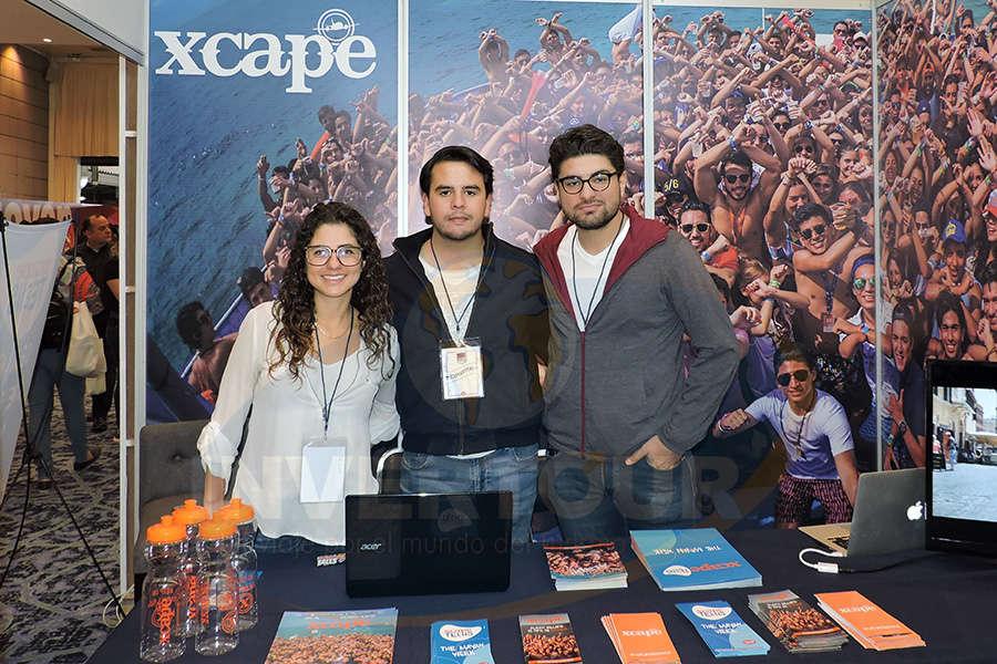 Paula Herrera, Jaime Jiménez y Diego Espinosa