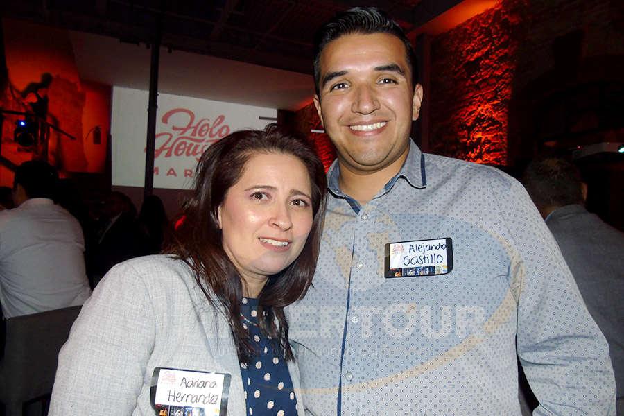 Adriana Hernández y Alejandro Castillo