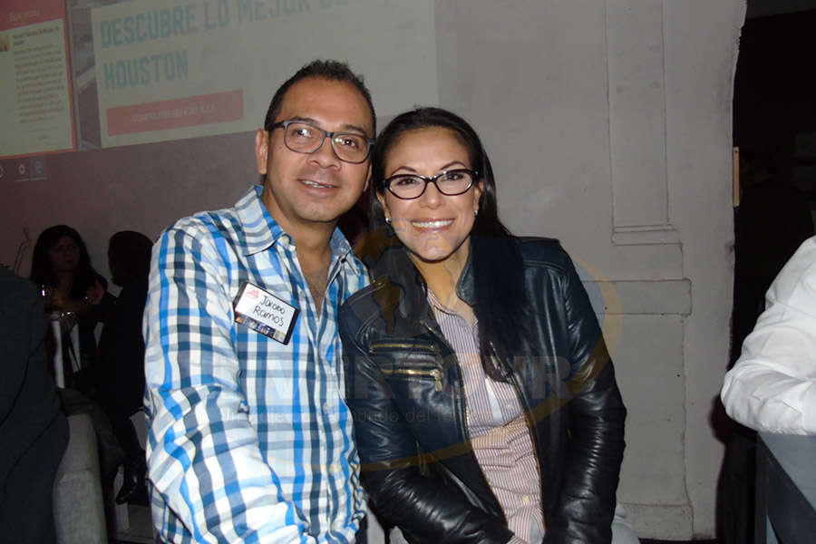 Jacobo Ramos y Ana Laura Serrano