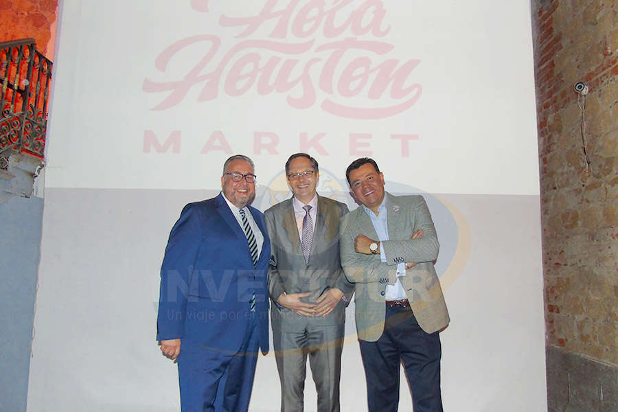 Jorge Franz, Rolf Meyer y Mauricio González