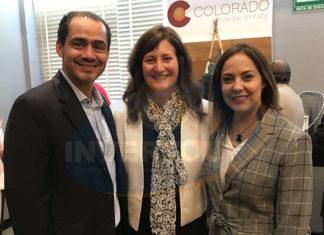 Benjamín Díaz, Andrea Blankenship y Adriana de la Torre