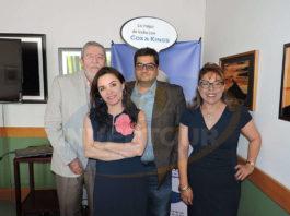 Jorge Sales, Carla Ponce, Vipul Kapur y Lourdes Castillo
