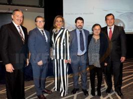 César Fernández, Felipe Bonifatti, Judith Guerra, Diego Muñoz, María Fernanda García y Paul Fuentes