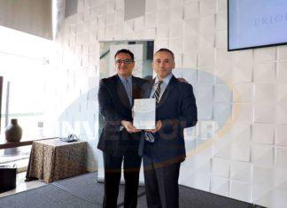 Rodolfo Salgado con Mauricio Molina