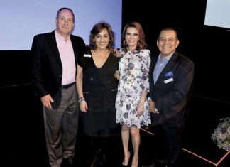 David Koontz, Liz Vaca, Maria Gutierrez-Winder y Raphael Paredes