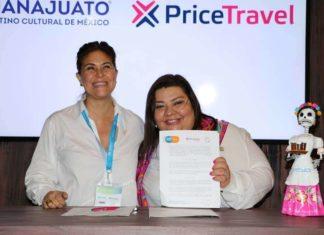 Teresa Matamoros con Celida Puente