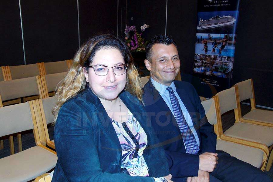Ligia Arce y Francisco Bravo