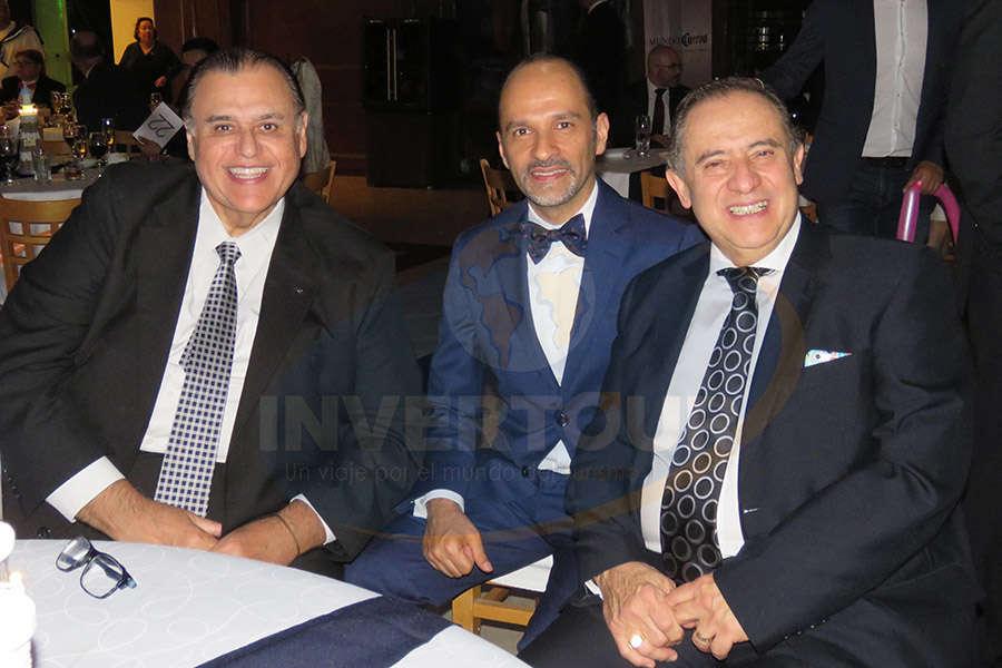 Ramiro Leal, Federico Mainfelt y Humberto Farrera