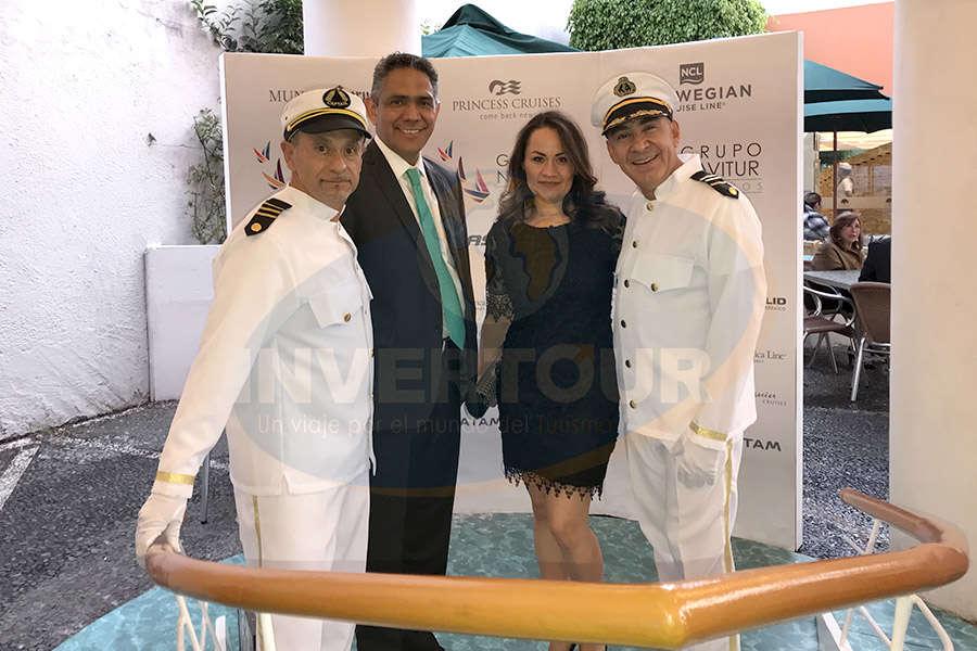 Jaime Rogel, Mauro Arredondo, Alma Delia Ávila y Erwin Romero