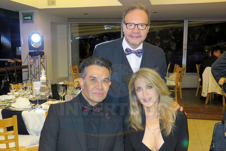 Dr. Gustavo González Zaldívar, Manuel Montelongo y Mercedes Rogel