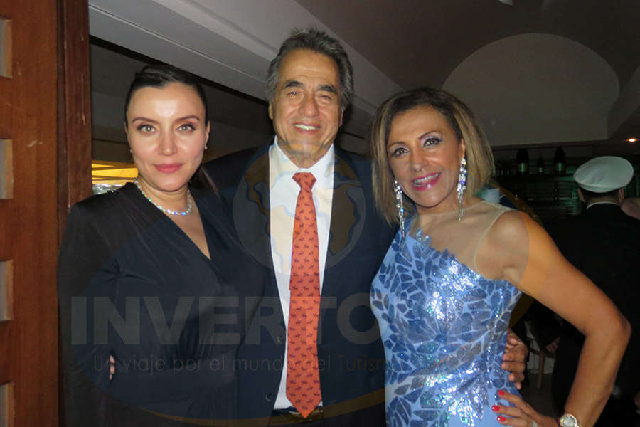 Diana Olivares, Alejandro Madrid y Judith Guerra