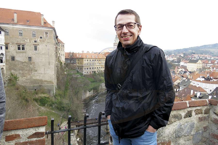 Petr Lutter, gran anfitrión
