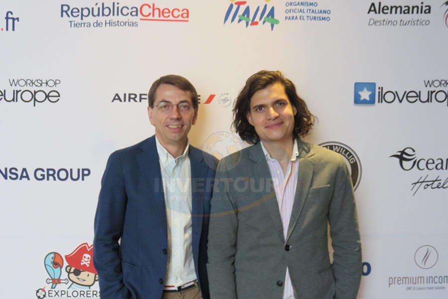 Petr Lutter con Fernando Cano