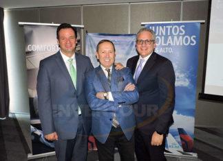 José Zapata, Roberto Girotti y Demetrio Acevedo