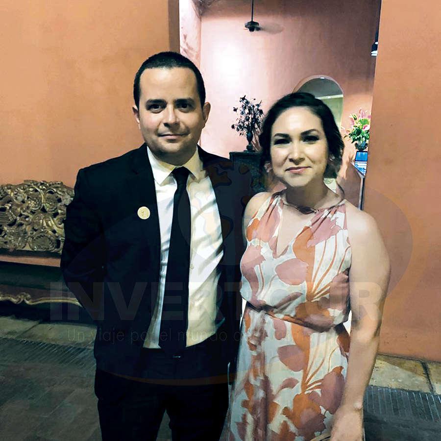 Mauricio y Brisa Bustamante de Travel Impressions