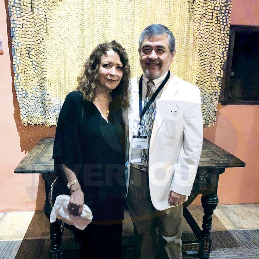 Maricarmen y Jesús Martínez, director general de Dream Destinations