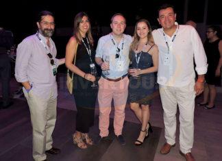 Pedro Berruecos, Anna Monreal, Roman Townsend, Alicia Orta y Mauricio González