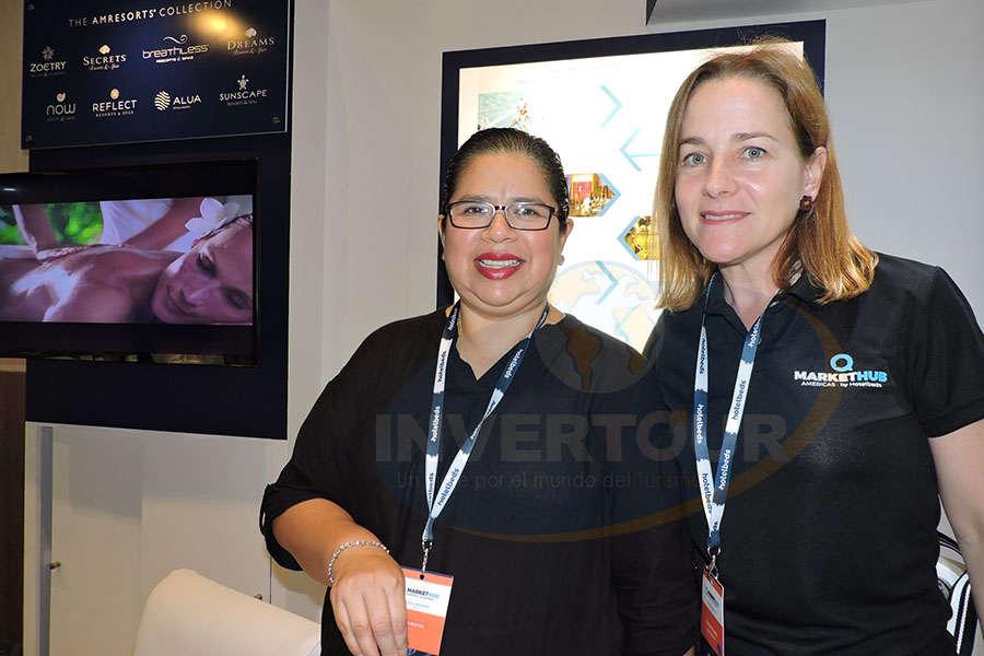 Eugenia Montes e Irene Prado