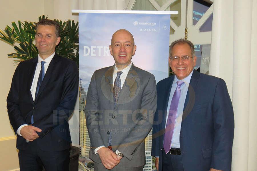 Paul Verhagen, Nicolás Ferri y James Sarvis