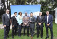 Jorge Prandi, Joaquín Ramírez, Vicky Jiménez, Antonio Taverna, Adolfo Jiménez, Franceso Taverna y Jorge Guadarrama