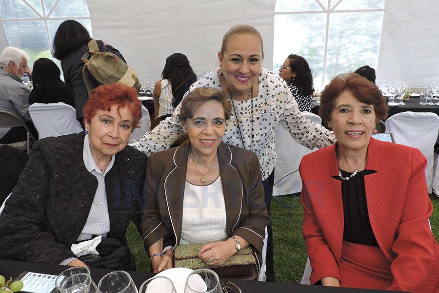 Clementina Torres, Martha Abraham, Gina Navarrete y América Anaya
