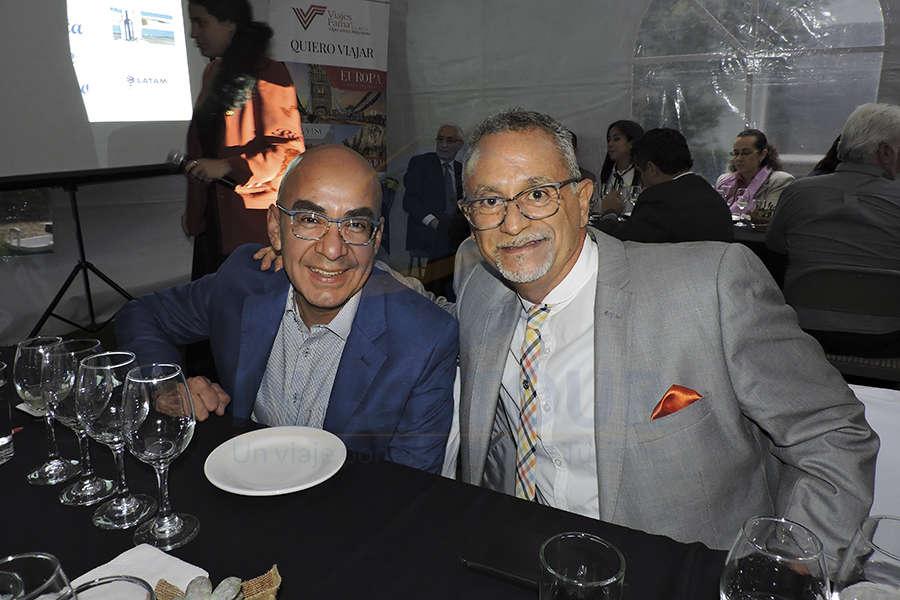 Erwin Romero y Jaime Rogel
