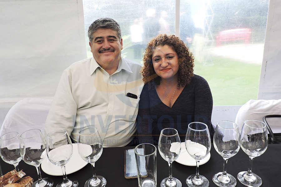 Graciano Pedraza y Adriana Manguen