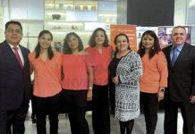 Eduardo Pérez, Valeria Molotla, Arizbeth Gómez, Sandra Ávila, Mayte Camacho, Norma García y Francisco Reynoso