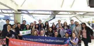 1er famtrip de agentes de viajes de China Southern Airlines