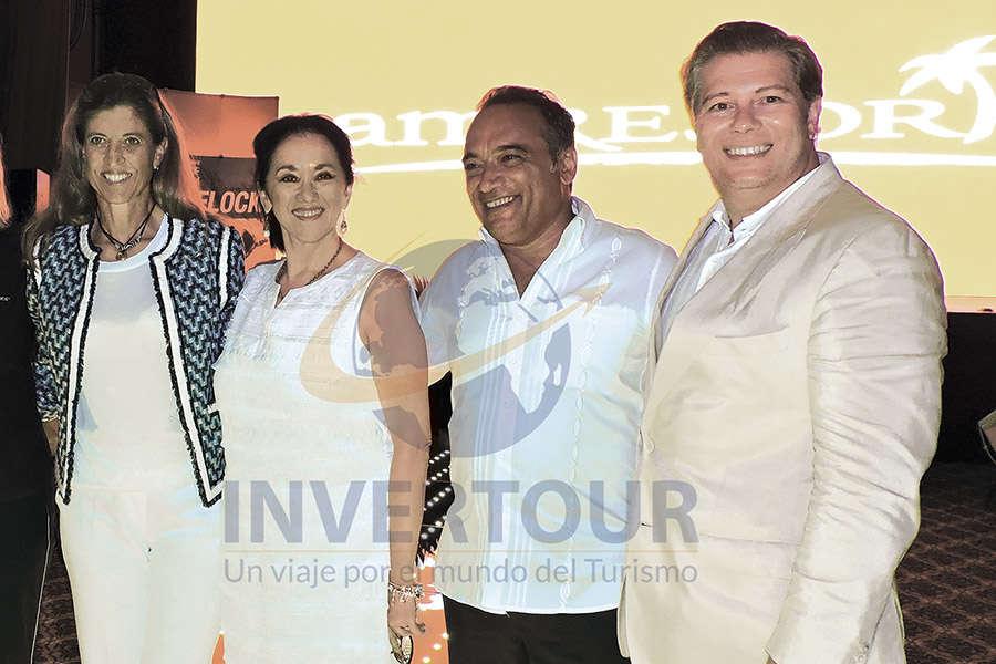 Karla Wheelock, Yarla Covarrrubias, Marco Soria y Felipe Bonifatti