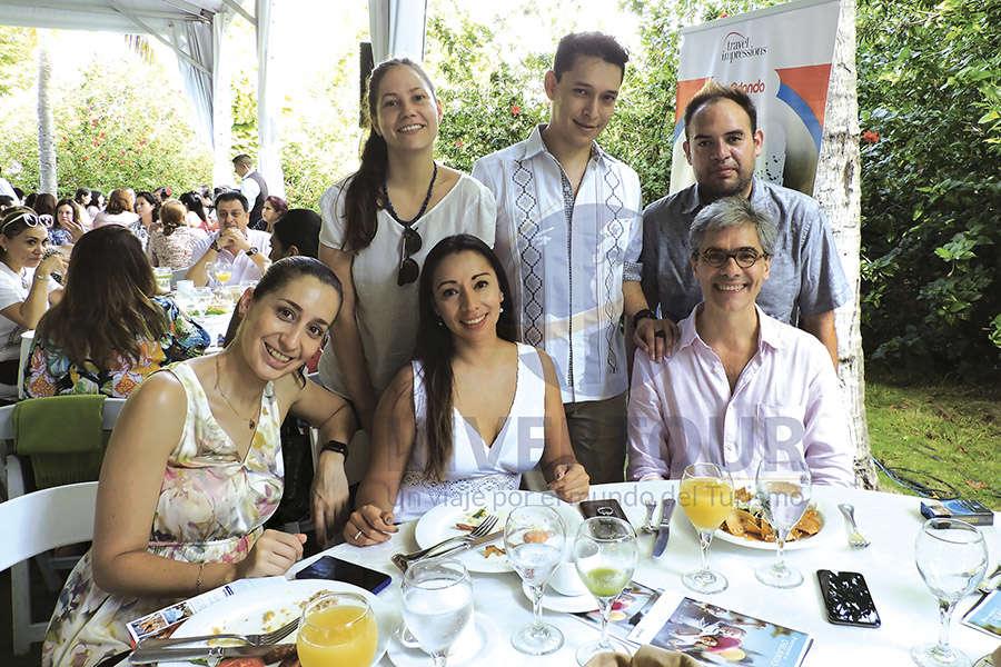 Ari Martínez, Diana Díaz de León, Denisse Heredia, Ismael Borja, Samuel Durazo y Jorge Morfín