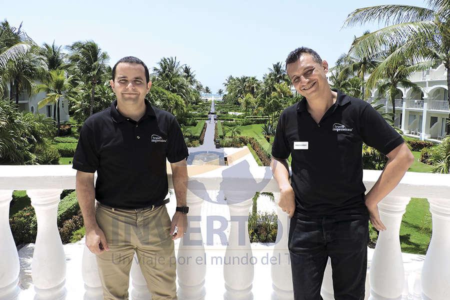 Mauricio Bustamante y Francisco Bravo
