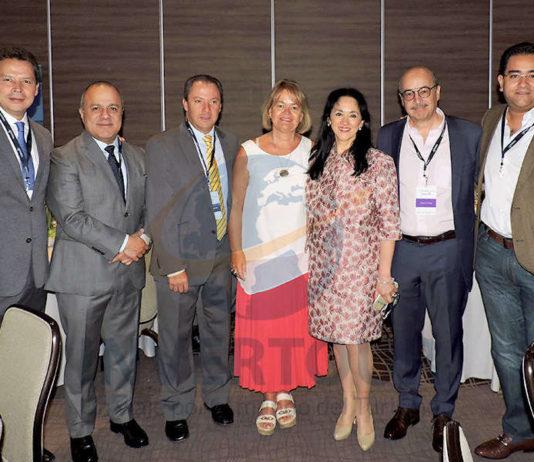 Gustavo Cantú, Benjamín Izquierdo, Julián Arroyo, Verena Knopp, Yarla Covarrubias, José Manuel Díaz de Rivera y Julio Alberto Álvarez
