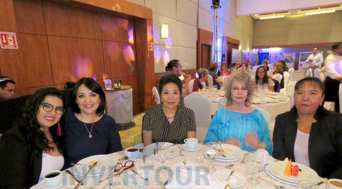 Samanta Barajas, Miriam González, Maricela Hidalgo, Berenice Lozano e Irma Ramírez