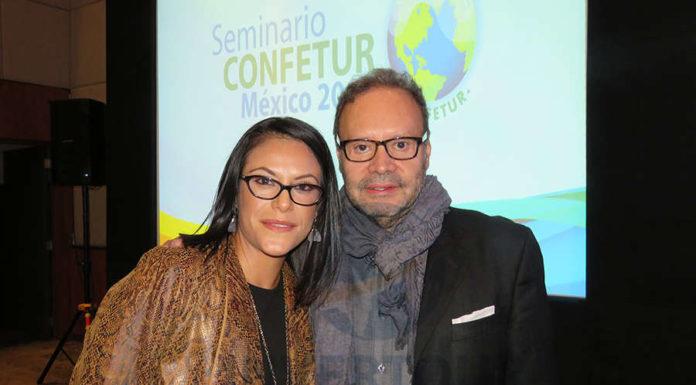 Ana Serrano con Manuel Montelongo