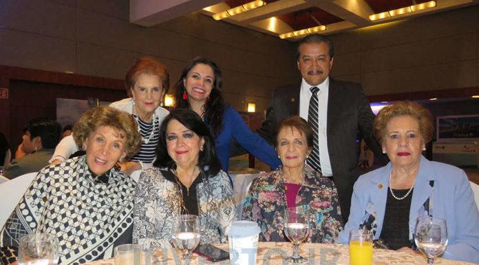 Magdi Hierro, Betty Cassola, Rosy Bauer, Carla Ponce, Conchita Etienne, Hugo Zúñiga, Silvia Fernández