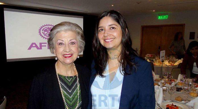 María Luisa Luengas y Marcela Carmona