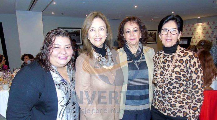 Celida Puente, Carmen Torreblanca, María Dolores de Oliver y Tere Leal