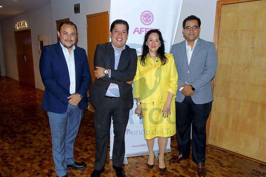Roberto Maldonado, Jorge Alberto Cruz, Yarla Covarrubias y Julio Álvarez