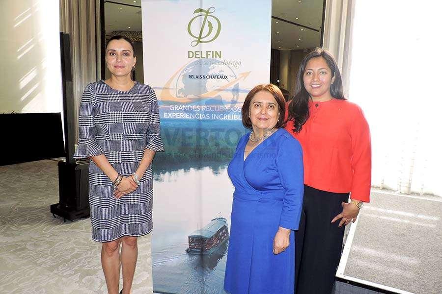 Diana Olivares, Lupita Gómez e Inés Orihuela