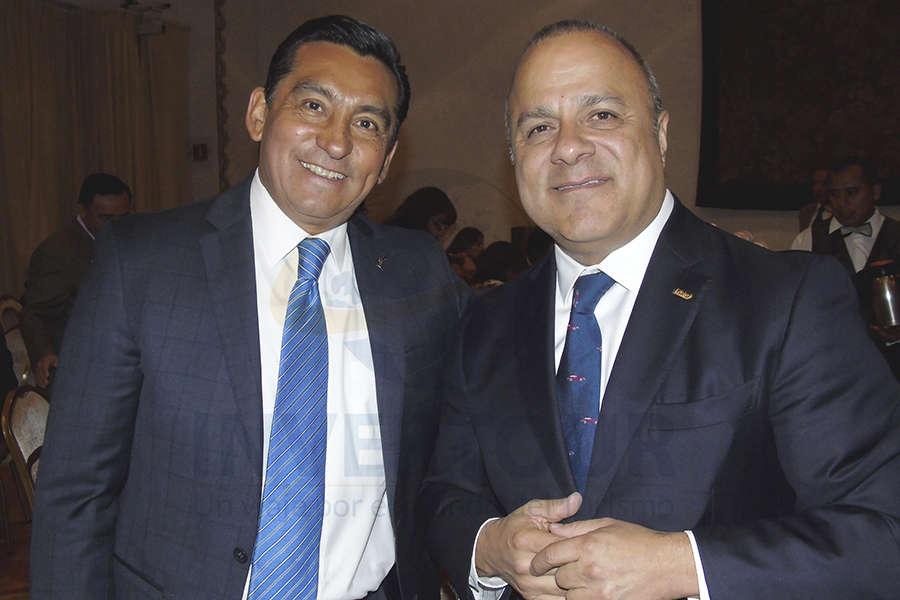 Edgar Solís y Benjamín Izquierdo