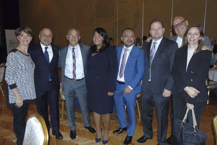 Olga Pulido, Benjamín Izquierdo, Jaime Rogel, Patty Torres, Miguel Galicia, Juan Socas, Rafael Ovalle y Jessica Arias
