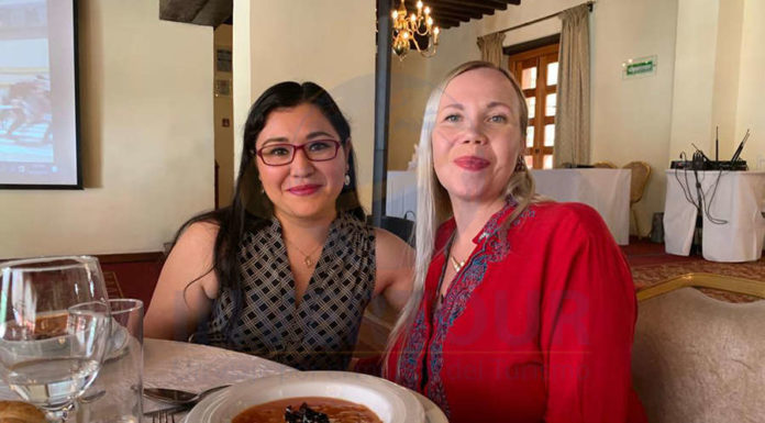 Lizbet Malanche y Sheila Wasche